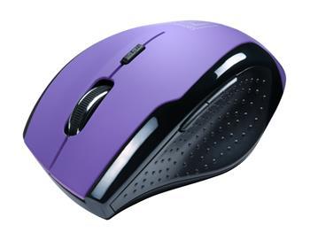 CONNECT IT bezdrátová optická myš - fialová