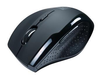 CONNECT IT bezdrátová optická myš - černá