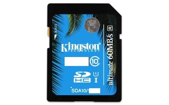 KINGSTON 64GB SDXC Class 10 UHS-I 90MB/s R, 45MB/s W Flash Card