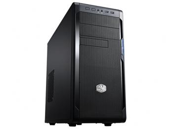 CoolerMaster case miditower series N300, ATX,black, USB3.0, bez zdroje