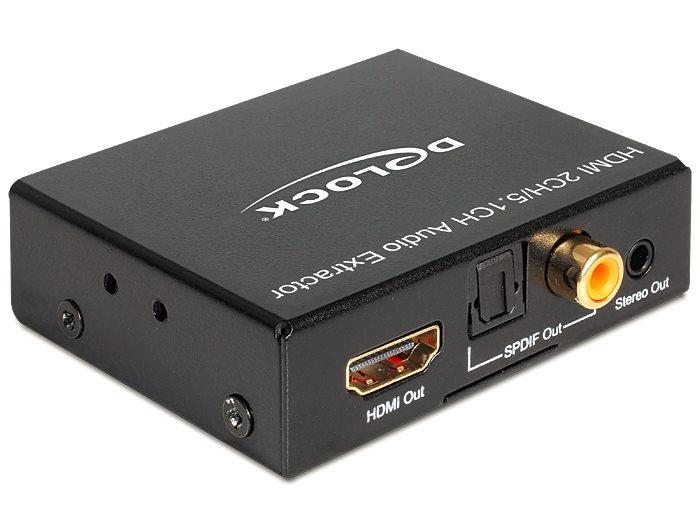 Delock HDMI Stereo / 5.1 Channel Audio Extractor