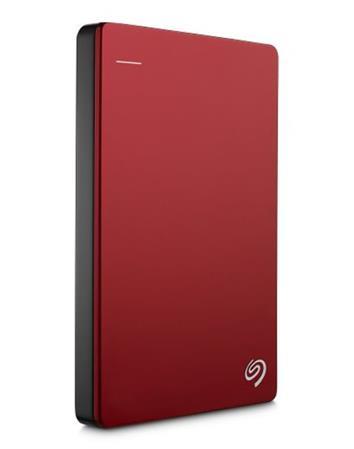 """Seagate Backup Plus, 1TB externí HDD, 2.5"""", USB 3.0, kovový červený"""