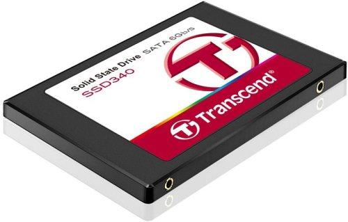 TRANSCEND SSD340 256GB SSD disk 2.5'' SATA III 6Gb/s, MLC, Plastic casing