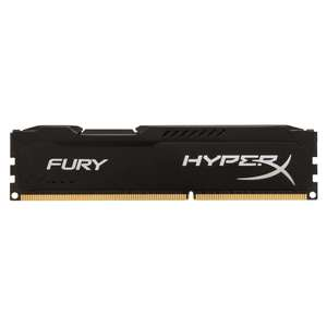 KINGSTON 4GB 1600MHz DDR3 CL10 DIMM HyperX FURY Black Series
