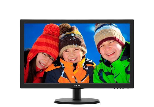 "Philips LCD 223V5LSB 21,5""wide/1920x1080/5ms/10mil:1/VGA/DVI/LED"