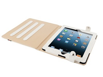 "Modecom obal na tablet COVER IPAD2/3 CALIFORNIA YOUNG WHITE, velikost 9.7"", bílé"