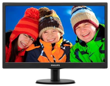 "Philips LCD 203V5LSB26 19,5""/1600x900/5ms/10mil:1/VGA/LED"