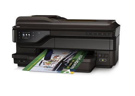 HP All-in-One Officejet 7612A Wide ePrint (A3+, 33 ppm, USB, Eth., Wi-Fi, Print/Scan/Copy/FAX,Duplex), A3
