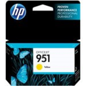 HP CN052AE Ink Cart No.951 pro OJ Pro 8610,8620, 700str., Yellow