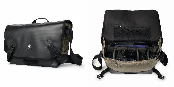 Crumpler Muli 7500 - black tarpaulin / khaki