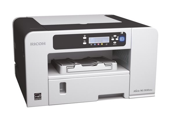 RICOH SG 3110DNW - 29 str/mmin, GelJet tiskárna, 128MB, LAN & WiFi, Duplex
