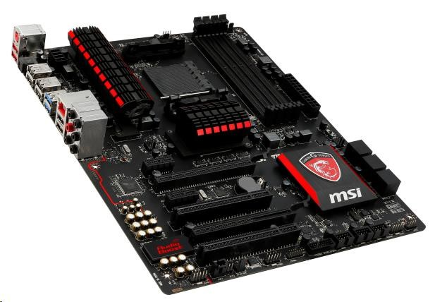 MSI 970 GAMING, AM3+, AMD970, 4xDDR3, 2xPCIe16, GL, 8CH, USB3.0
