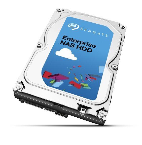 Seagate Enterprise NAS HDD, 2TB, SATAIII, 128MB cache, 7.200RPM