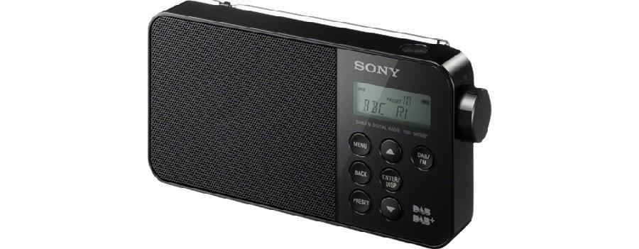 SONY XDR-S40DBP Přenosné digitální rádio DAB/DAB+ Black