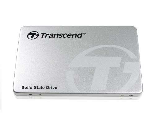 TRANSCEND SSD370S 128GB SSD disk 2.5'' SATA III 6Gb/s, MLC, Aluminium casing, stříbrný