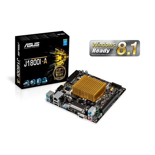 ASUS J1800I-A, int. CPU dual-core j1800, 2xDDR3, VGA/HDMI, PCI, GLan, 8CH, USB 3.0, mITX