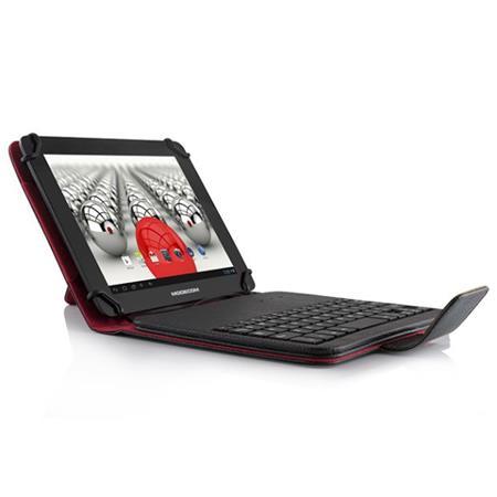 """Modecom drátová klávesnice pro tablety MC-TKC08¨, 7""""-8"""", micro USB, černá, s obalem"""