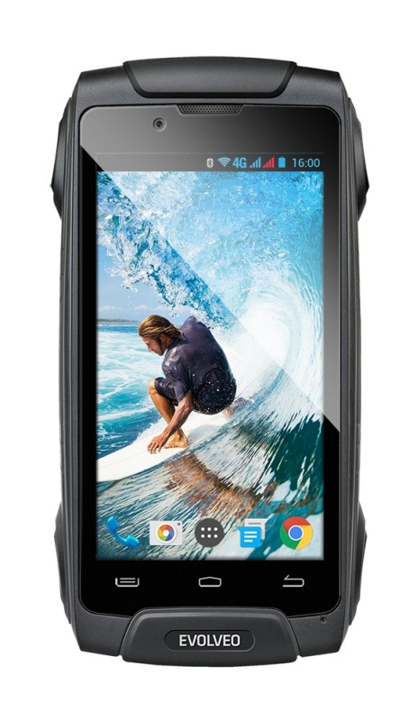 EVOLVEO StrongPhone Q8 LTE,Dual SIM, vodotěsný odolný Android Octa Core smartphone