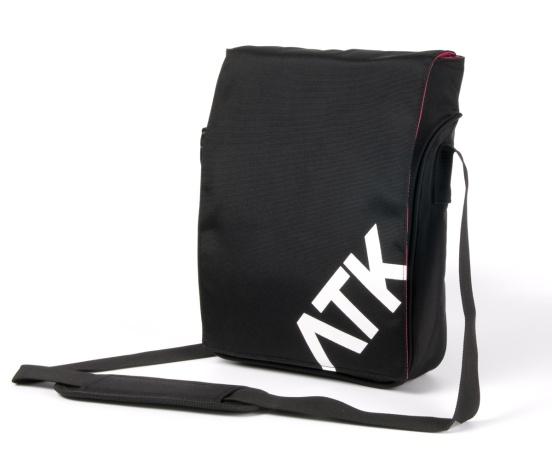 """Attack S-cool Red 11,6 """" - stylová brašna nejen pro NTB, černá (uvnitř červená)"""