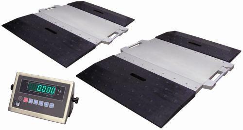 Přenosná nápravová váha ZEMIC L15B (2 plošiny+indikátor)